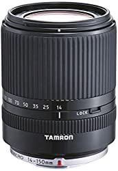 Tamron AF 14-150mm F/3.5-5.8 Di III Zoom Lens for Olympus Micro 4/3 Cameras, Black