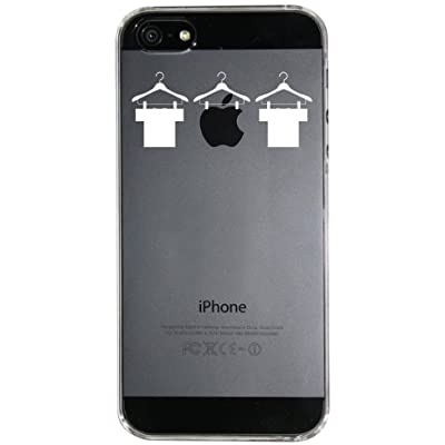 【Clear Arts】【iPhone5ケース カバー】【スマホケース カバー】 【Tシャツとアップル】クリアー・アーツ ip5-06-ca0005  スマートフォン