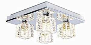 Eglo Isella Ceiling Light - with colour LED mood lighting option by Eglo