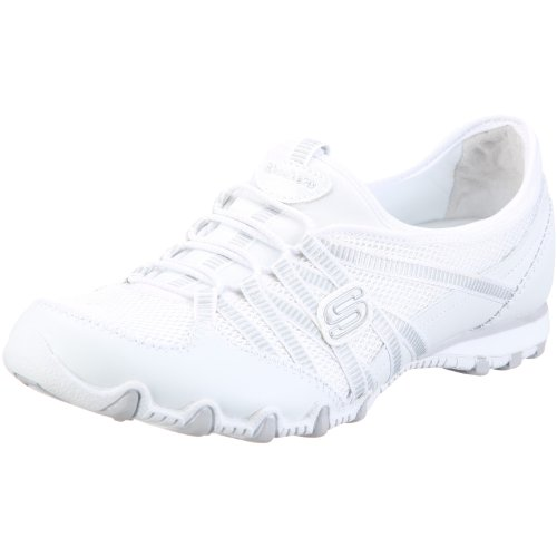 Skechers Womens Hot Ticket Fashion Sneaker,White,6 M US Reviews