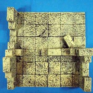 Ruinopolis Sandstone B 28mm Miniature Terain