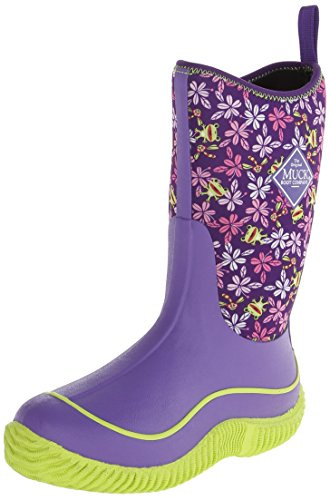 MuckBoots Hale Boot,Purple Frogs,7 M US Big Kid