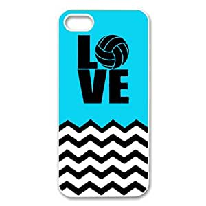Amazon.com: I Love Volleyball Back Cover Case for iPhone 5 ...