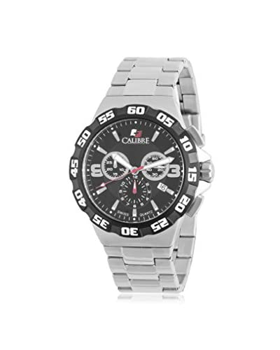 Calibre Men's SC-5L2-04-007 Lancer Analog Display Quartz Silver Watch