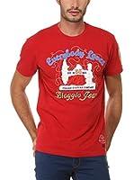 BIAGGIO Camiseta Manga Corta Loupasifred (Rojo)