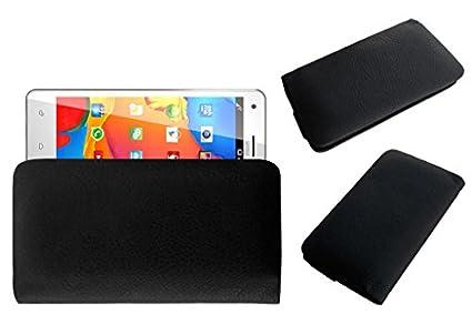 Acm-Rich-Soft-Case-For-Sansui-U55-Mobile-Handpouch-Leather-Cover-Black