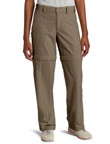 White Sierra Women's Sierra Point 29-Inch Inseam Convertible Pant, Medium, Bark (Women Convertible Pants compare prices)