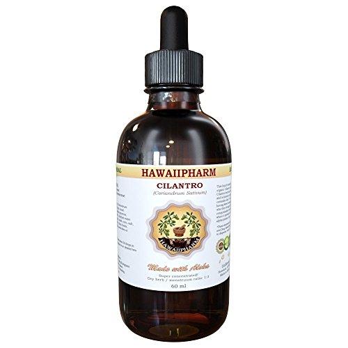 Cilantro Liquid Extract, Organic Cilantro (Coriandrum Sativum) Tincture Supplement 2 oz (Artichoke Extract Alcohol Free compare prices)