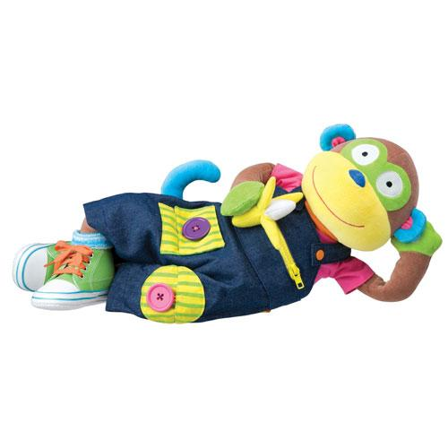 Amazon.com: ALEX Toys Little Hands Learn To Dress Monkey: Toys & Games