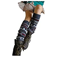 Springwell Women's Cable Knit Leg Warmers in Multiple Style and Colors