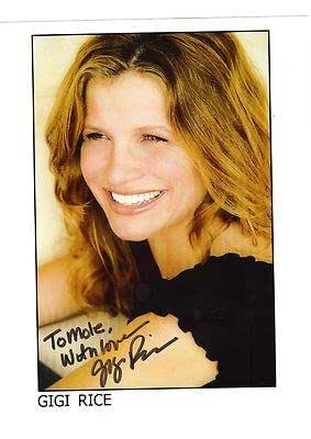 Gigi Rice-Signed Photo-19 at Amazon's Entertainment Collectibles Store