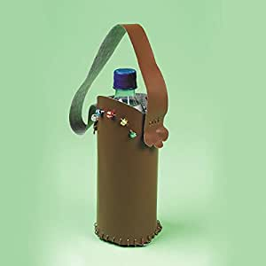 Leather Look Water Bottle Holder Craft Kit (Makes 12)