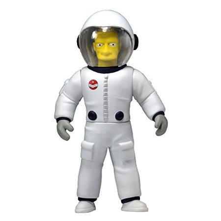 NECA Simpsons 25th Anniversary Series 4 Buzz Aldrin 5' Celebrity Action Figure