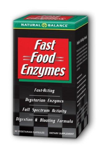 Les enzymes naturelles Solde Fast Food, de 90