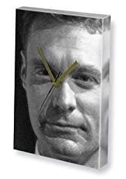 RYAN SEACREST - Canvas Clock (LARGE A3 - Signed by the Artist) #js001