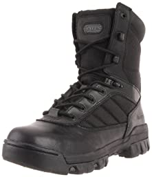 Bates Women's Ultra-Lites 8 Inches Tactical Sport Side Zip Boot,Black,6 M US