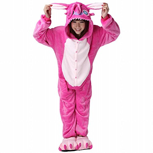 [Naray Unisex Adult Animal Anime Costume Onesie Sleepwear Bat Cosplay Pajamas] (Easy Halloween Costume To Wear To Work)