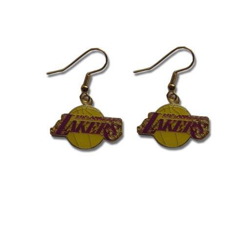 nba-dangling-earrings-los-angeles-lakers-logo