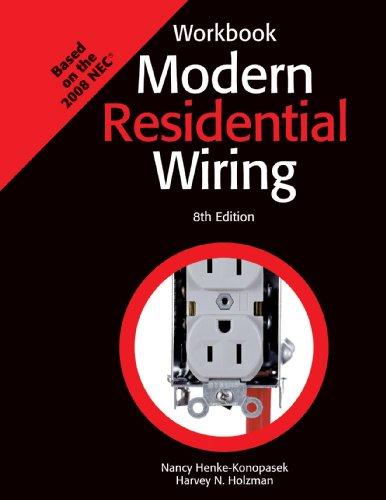 Modern Residential Wiring, Workbook