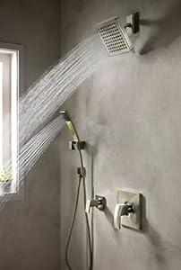 Pfister 016-2DFK Kenzo Hand Shower Kit, Brushed Nickel