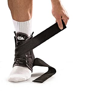 Mueller Hg80 Ankle Brace with Straps, X-Large 1-Count Box