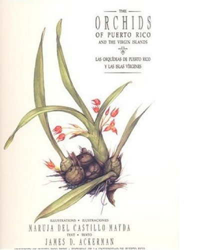 The Orchids of Puerto Rico and the Virgin Islands / Las Orquideas De Puerto Rico Y Las Islas Virgenes