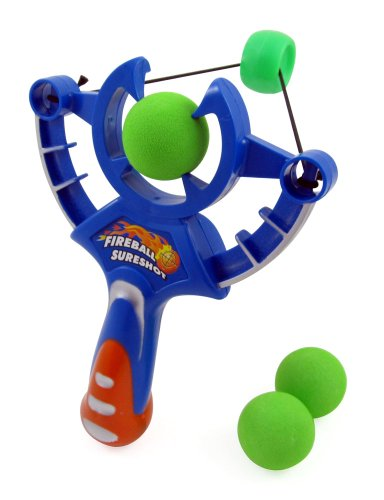 Foam Fireball Slingshot Toy for Kids - 1