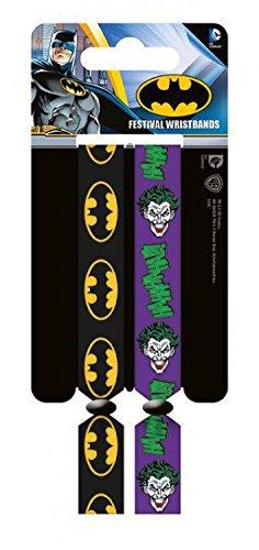 Batman - Joker, Set Di 2 10mm Wristbands Braccialetto (10 x 2cm)