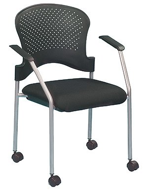 Eurotech - Seating Stack And Guest Chair, Breeze Fs8270 - Color: Black
