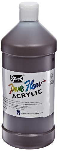 Sax True Flow Medium Bodied Acrylic Paint - Quart - Burnt Umber