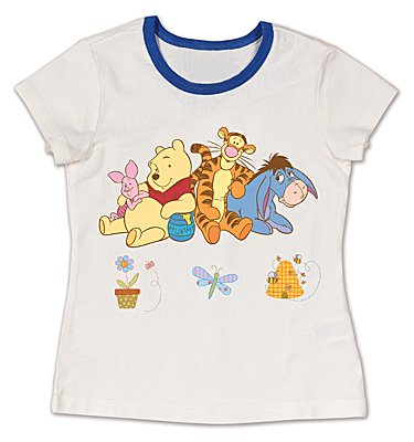 Janlynn Winnie The Pooh Iron On Transfer (1 Package) - Group