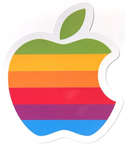 ステッカー アップルマーク apple 防水紙シール