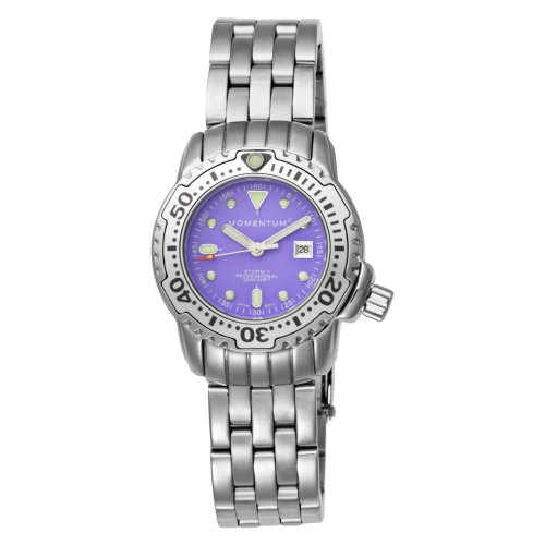 Momentum  Women's 1M-DV83P0 Storm II Purple Scuba Dive Water-sports Watch