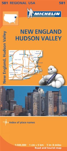 Mapa Regional New England, Hudson Valley (Carte regionali)