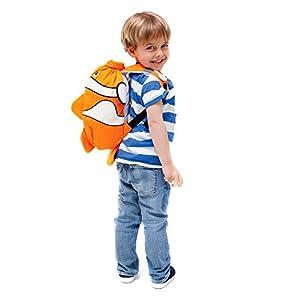 Trunki PaddlePak Water-Resistant - Coral Children's Backpack by Knorrtoys