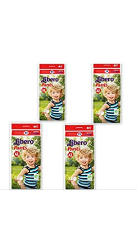 Image result for Libero Diaper Pants Extra Large Size (32 Pieces), Pack of 4