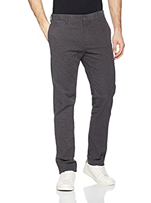 Dockers Long Bottoms Insignia Khki Es Better Weston A Refined (Gris Oscuro)