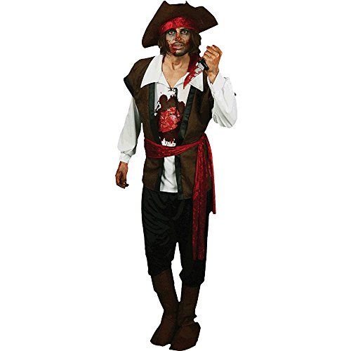 Morphsuits Men's Morphcostume Co Beating Heart Pirate Digital Male Costume