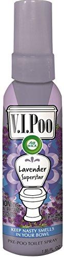 air-wick-vipoo-pre-poo-toilet-spray-lavender-superstar-185-oz-odor-free-guarantee