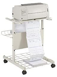 Balt Adjustable Printer Stand - 29X35x27\