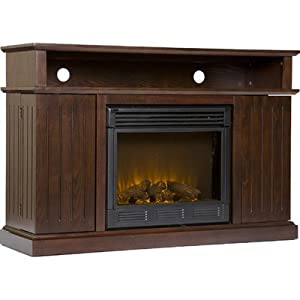 Lexington Electric Fireplace Media Stand - Espresso
