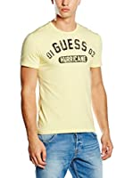 Guess Camiseta Manga Corta (Azul Royal)