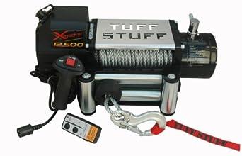 Tuff Stuff Xtreme 12,500lb Winch Waterproof Wireless & Snatchblock