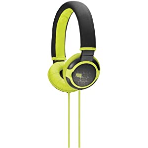 Sony MDRPQ2 Giiq Over-the-Head Headphones (Green) (Discontinued by Manufacturer)