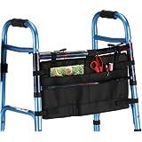 Nova medical products 4001bk folding walker bag, black