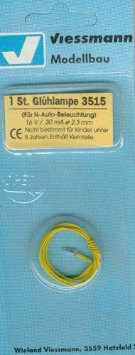 Viessmann 3515 Glühlampe, klar, 2,3 mm [Spielzeug]