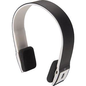 nxg mobile accessories wireless bluetooth headphones headset w mic a2dp black white nx bt. Black Bedroom Furniture Sets. Home Design Ideas