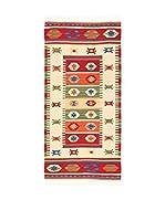 Kilim Carpets by Jalal Alfombra Kilim Fine 336 (Rojo/Multicolor)