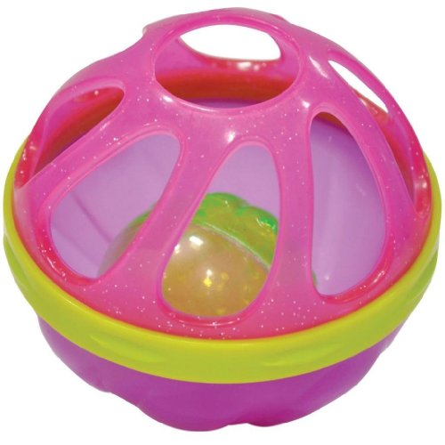 Munchkin Baby Bath Ball - Pink/Green