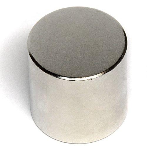 CMS Magnetics® N52 Cylindrical Neodymium Magnet Dia 1
